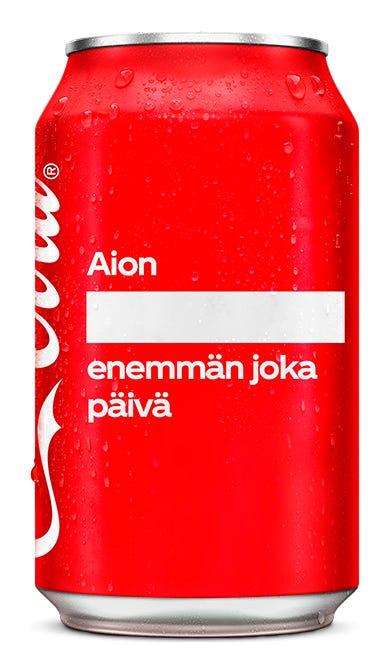 Aion ________________ enemmän joka päivä - Coca-Cola Original Taste