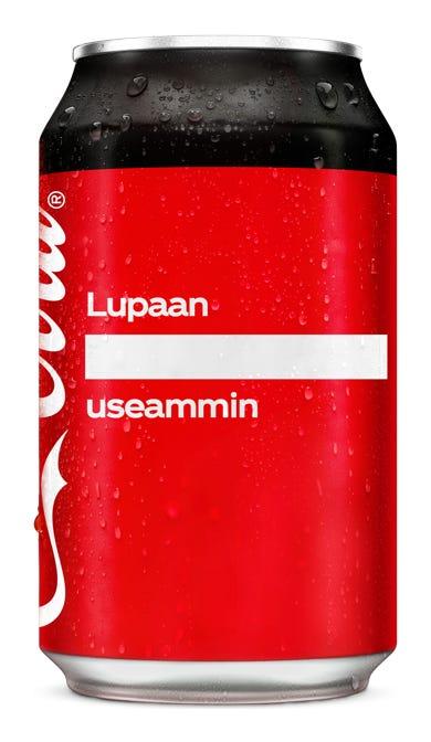 Lupaan _useammin - Coca-Cola Zero Sugar
